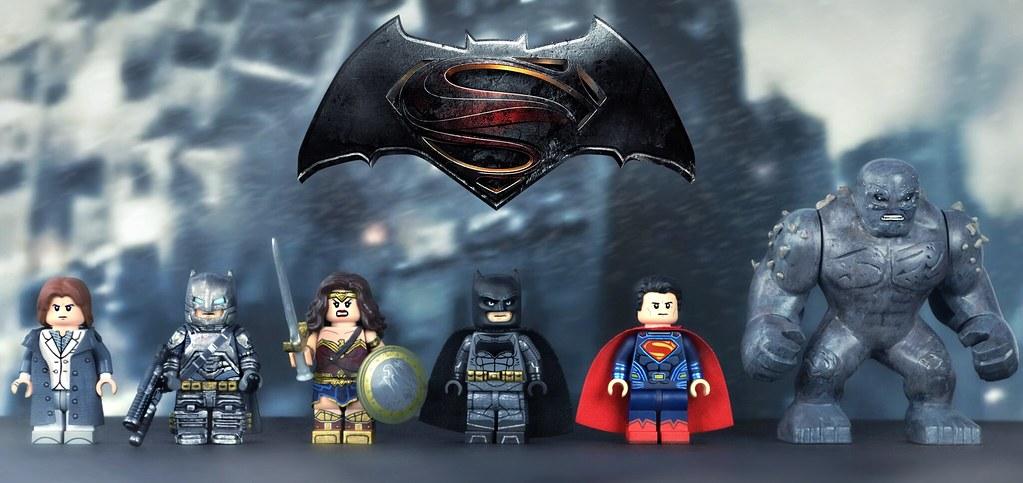 LEGO Batman V Superman Dawn Of Justice Minifigures