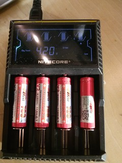 New battery charger for the IMRs | by RobotSkirts