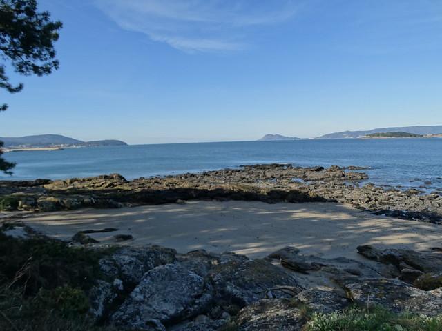 Cala en la playa de las Gaviotas
