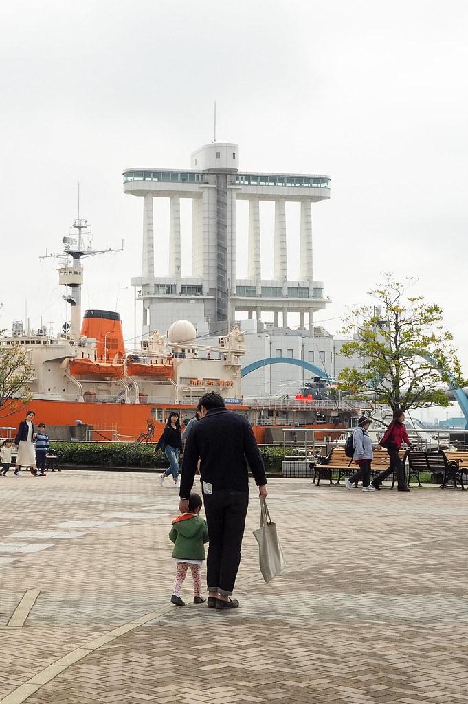 お父さんといっしょ along with dad 名古屋港 port of nagoya 次は