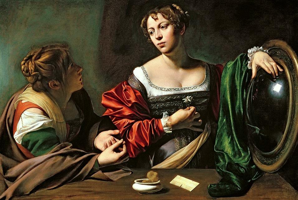 Картинки по запросу Michelangelo Merisi da Caravaggio maria magda