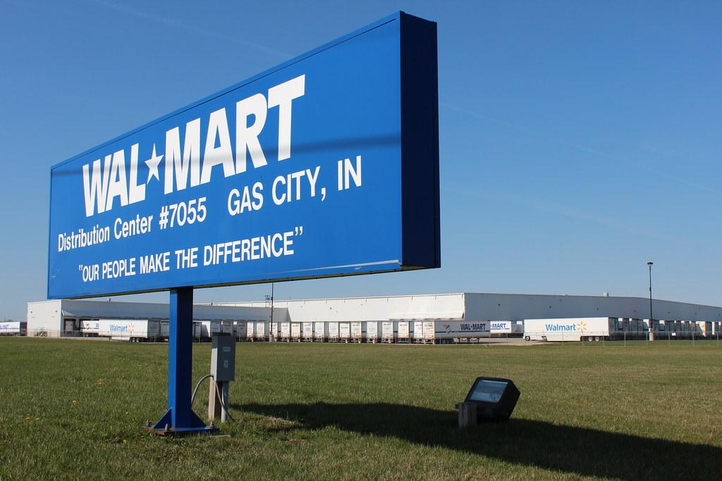 Walmart distribution center gas city