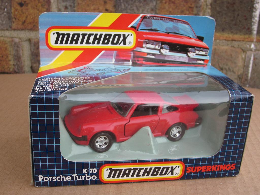 Matchbox Super Kings K 70 Porsche 911 Turbo Boxed 1980 S R Flickr