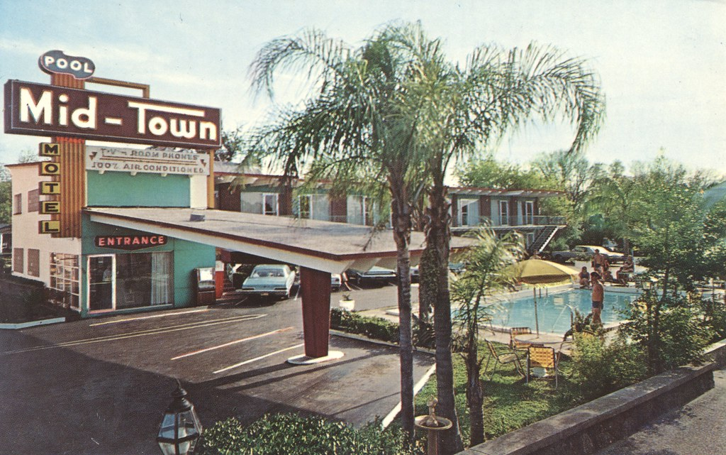 Mid-Town Motel - Daytona Beach, Florida