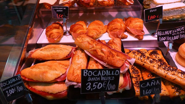 Bocadillo Jamon Iberico Dec 25, 2015, 9-31 AM