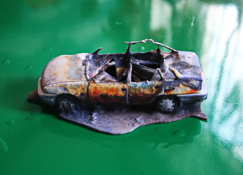 Burnt car | by 3DPrintus