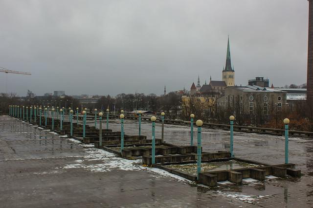 Linnahall en Tallin, Estonia