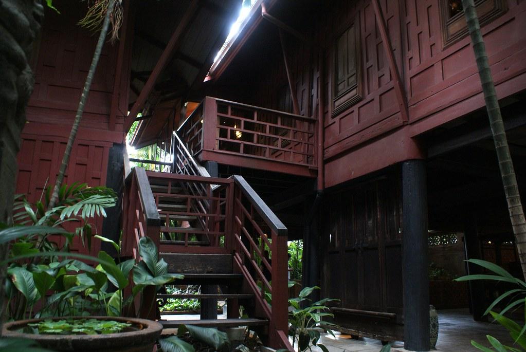 Une des maisons sur pilori du musée Jim Thompson à Bangkok.