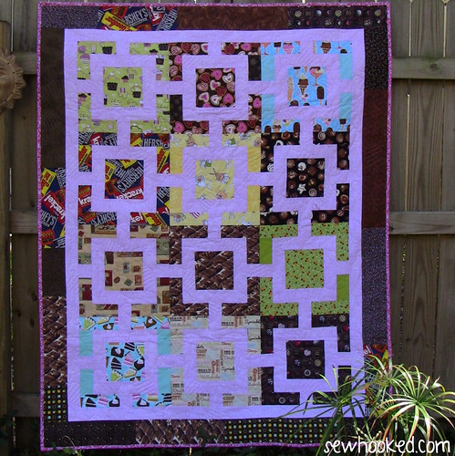 Quilt for Tara (Chocolate Box)
