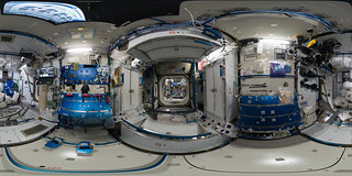 Space Station 360: Harmony (Node 2) | by europeanspaceagency
