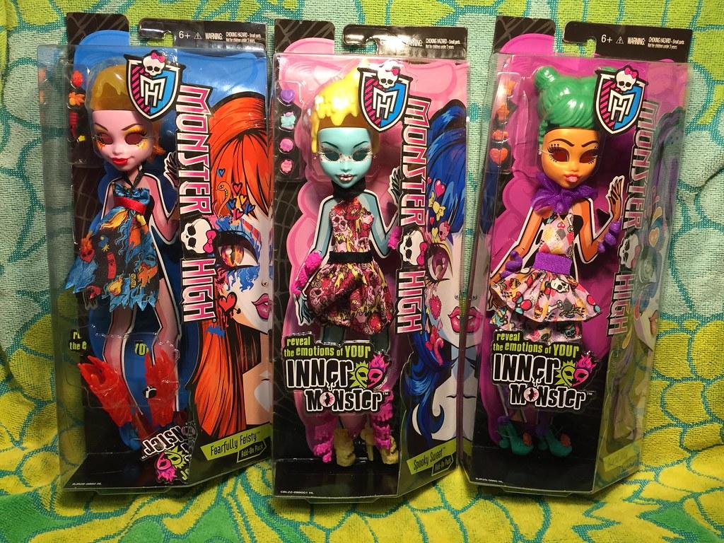 Monster High Inner Monster Dollar Tree Finds The Original Barbie