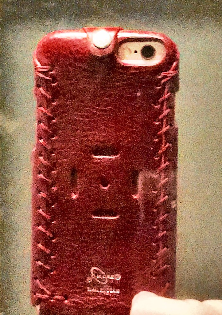 ... The second purchase of Orbino Pantera Case for iPhone 6S in  deep red   Tuscan 27ad093798bc