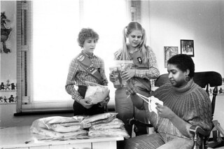 Girl Scouts present Layettes to Crisis Nursery | by The Urbana Free Library Digital Collections