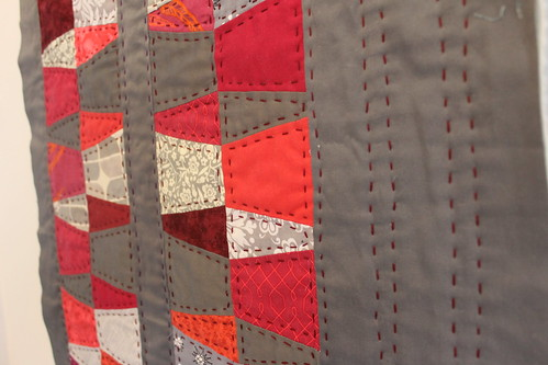 Modified Dresden Hand Quilted Mini Quilt | by DanaK~WaterPenny