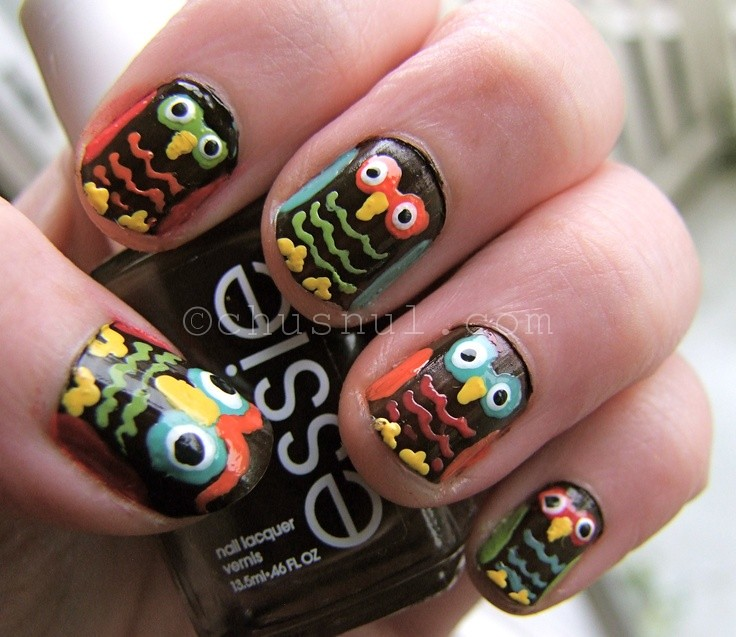 Most 15 Cute And Easy Owl Nail Designs 2016 Most 15 Cute A Flickr