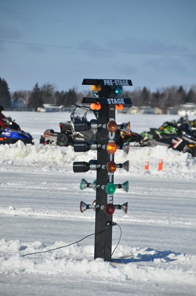 Christmas tree drag race start lights snowmobile racing flickr christmas tree drag race start lights snowmobile racing and show on houghton lake aloadofball Image collections