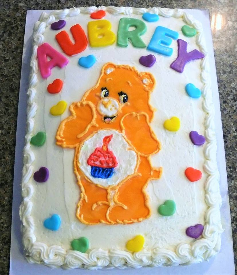 Care Bears Cake By Katy Linn County Ia Birthdaycakes Flickr