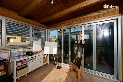 Serra bioclimatica interior baltera porte e finestre for Baltera roma