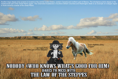 The Law of the Steppes #1 | by iamtalkytina