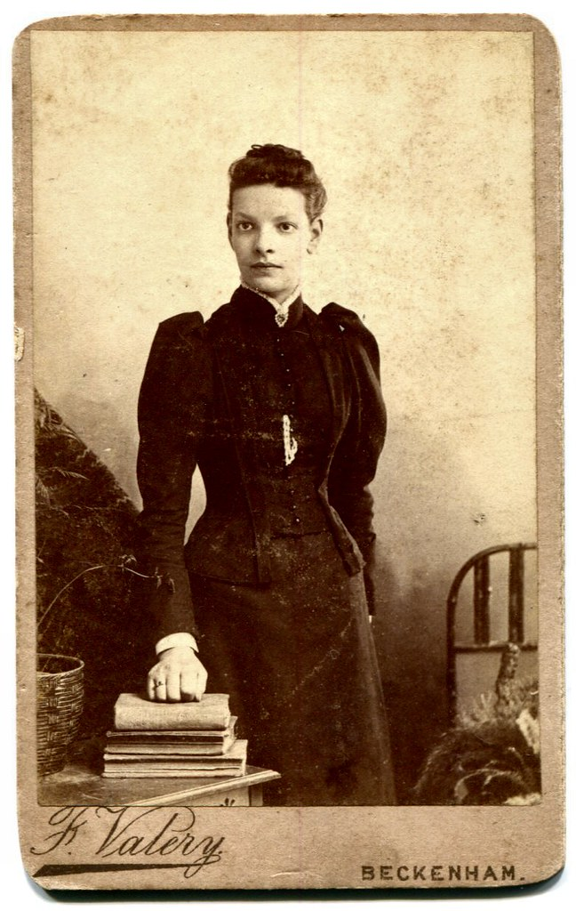 Young Woman Carte De Visite Photograph