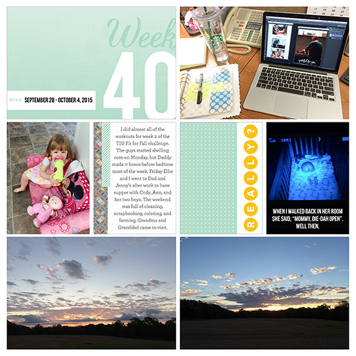 Project Life 2015: Week 40 | by nicolernorman