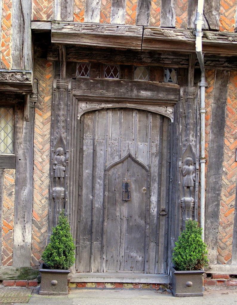 A door within a door (a wicket), Lavenham, Suffolk, Englan… | Flickr