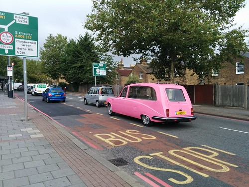 Pink hearse | by mrbootle