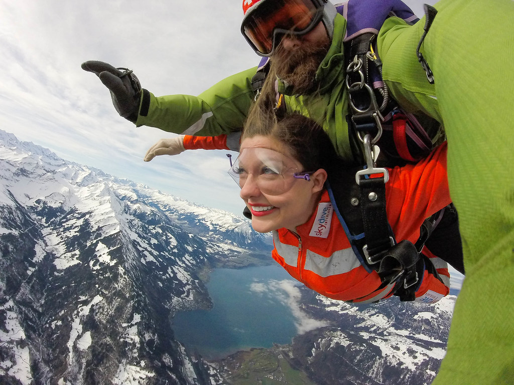 Skydiving in Switzerland | 16 Favorite Travel Memories of 2016