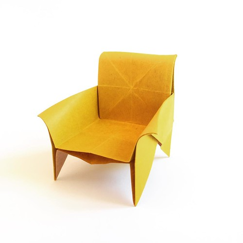 Origami chair (Mark Bolitho) | by Origami Spirit