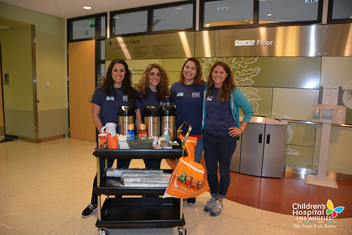Women of FOX Sports Volunteer Event | Children's Hospital ...