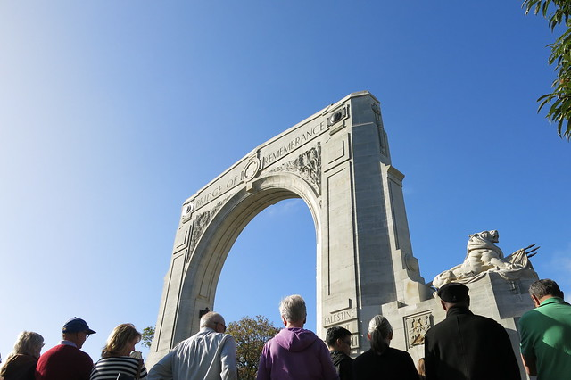 Bridge of Remembrance rededication