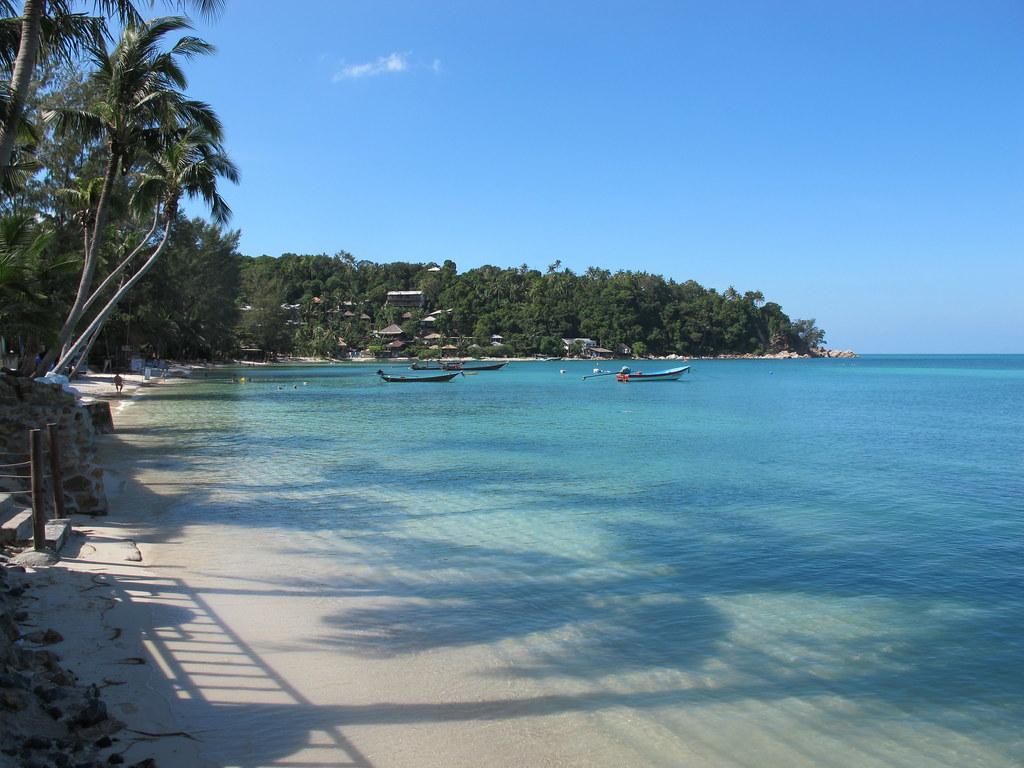 > Salad beach à Koh Phangan en Thailande.