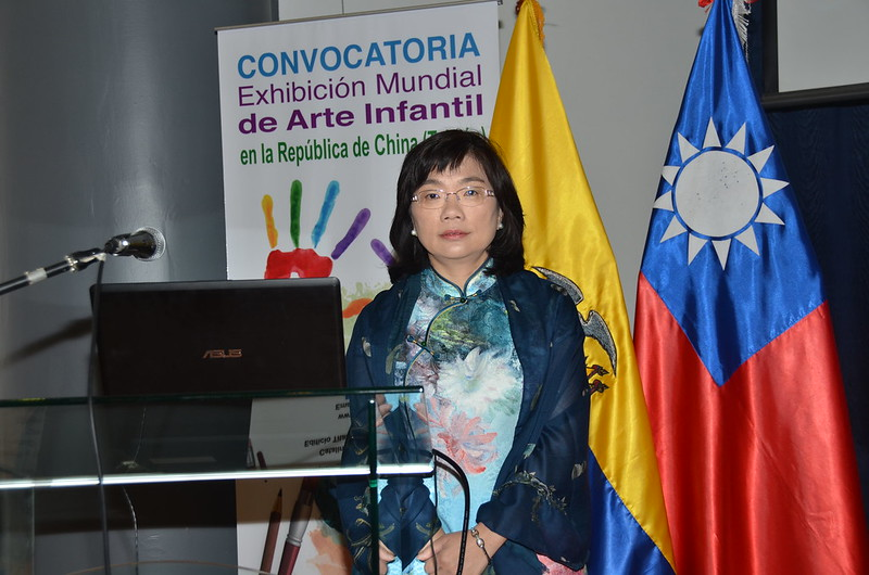 Acto de Premiación de la 46ª Exhibición Mundial de Arte Infantil de la República de China (Taiwán). 6.04.2016