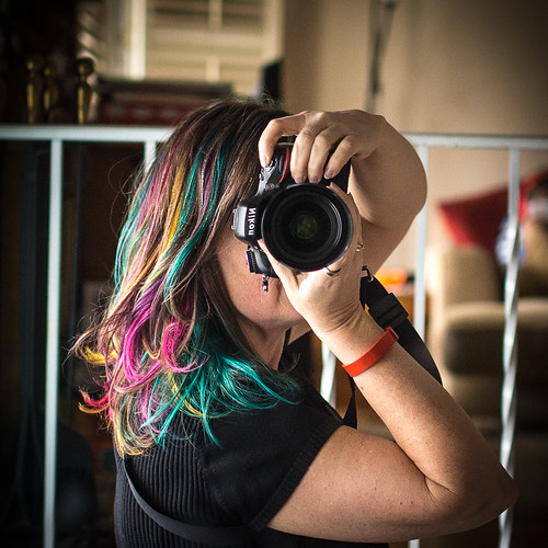 self-portrait of Ottawa photographer Danielle Donders