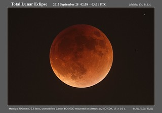 Total Lunar Eclipse 2015-09-28 ~03:00 UTC | by Pachacoti