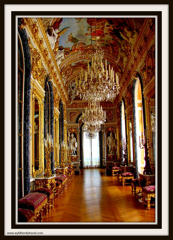 Hall of mirrors at Herrenchimsee