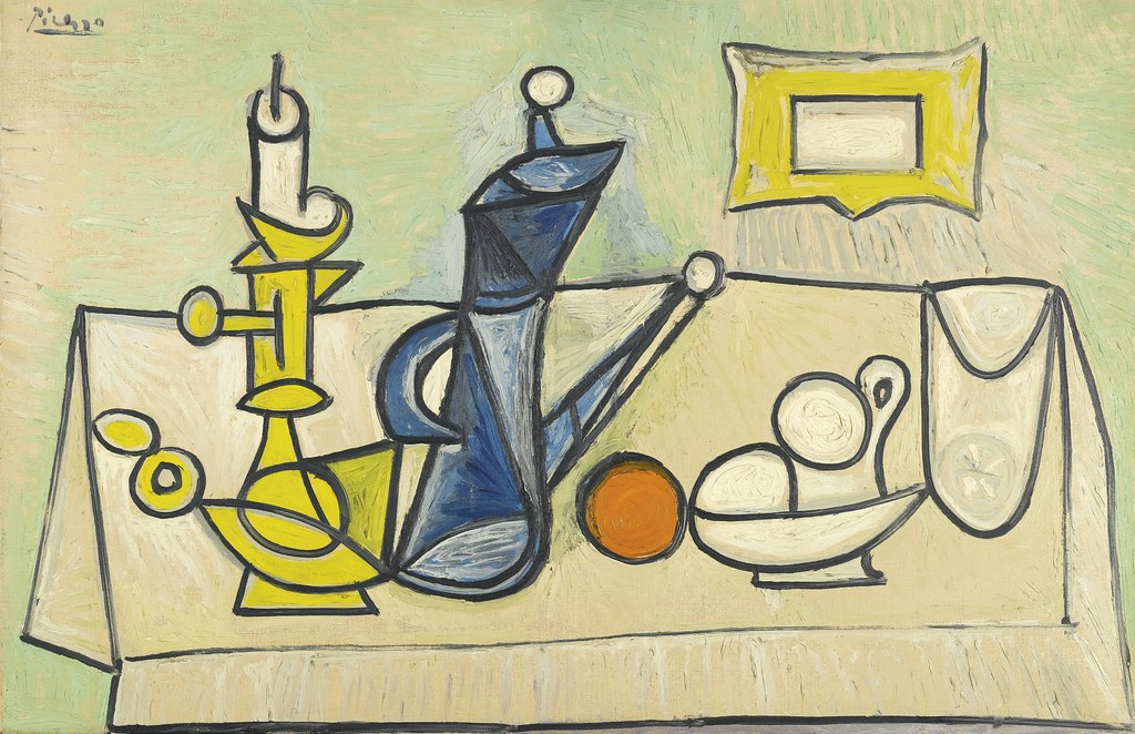 Pablo Picasso - Still Life (Nature morte) [1944] | In early … | Flickr