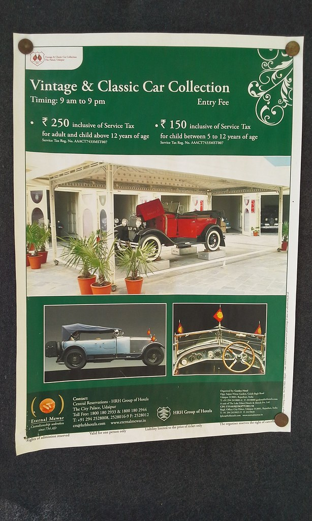 Vintage and Classic Car Museum at Udaipur | Beautiful pics t… | Flickr