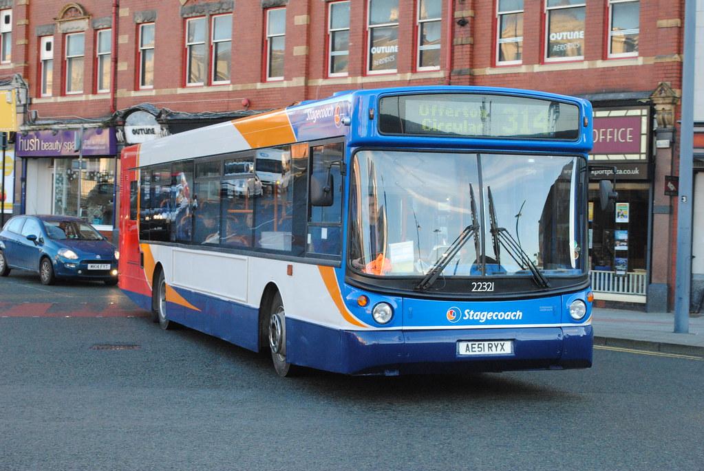 ... Stagecoach Manchester 22321 AE51RYX   by Alan Sansbury
