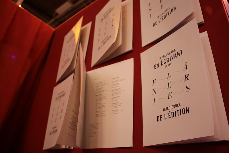 Flâneries de l'édition - Livre Paris 2016