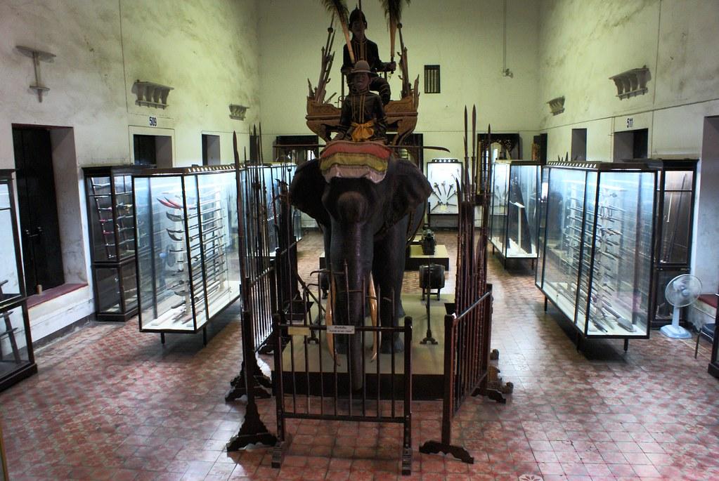 La partie non rénovée et la majeure partie du Musée National de Bangkok.