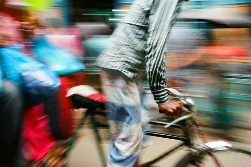 Rickshaw in Motion | by Jamie Kitson