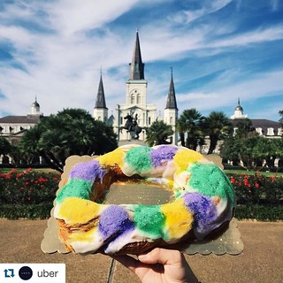 It's the start of the carnival season! Our favorite time of the year here at Tulane #onlyattulane #nola #tulane #neworleans #kingcake #uber #mardigras #rollwave | by OnlyAtTulane
