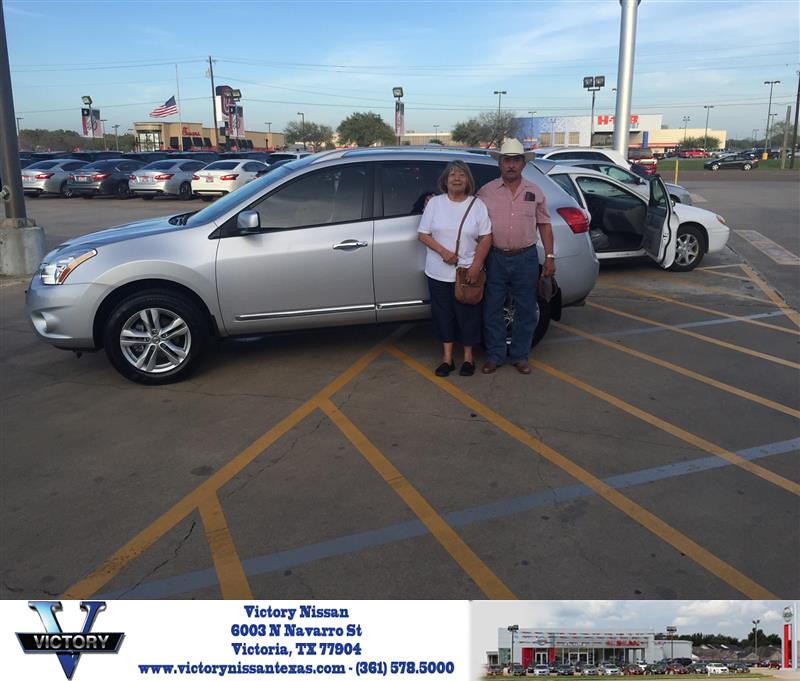 Victory Nissan Victoria Tx >> Congratulations Marcos On Your Nissan Rogue From Toby Wi