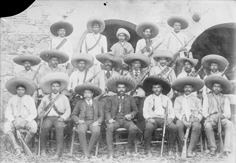 his Emiliano Zapata Zapata Title and Staff Emiliano an SxwEXUx