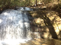 Iz on Top of Long Creek Falls