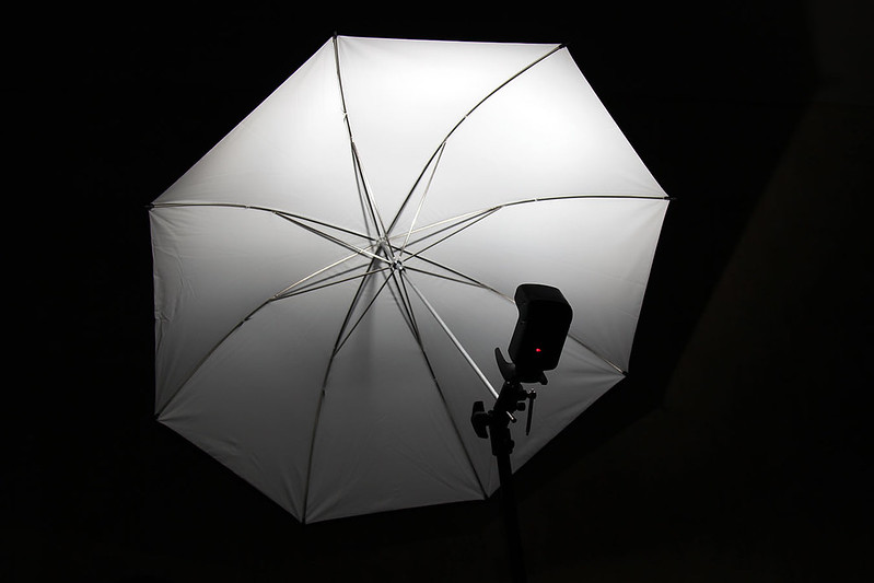 Reflective photography umbrella