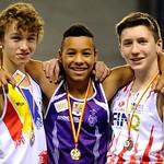 Provinciaal Kampioenschap Indoor Gent - 10 januari 2016
