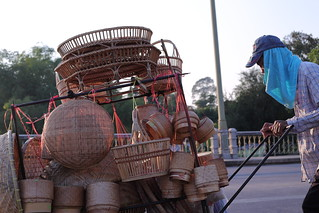 Thai basket shop