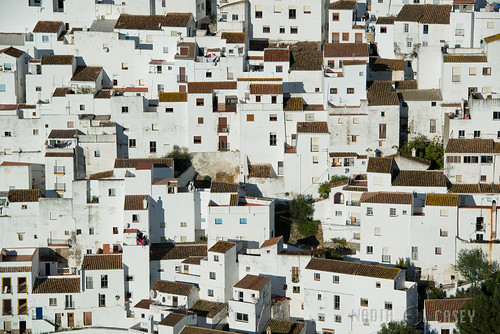 Wall of Houses - Casares, Spain | by www.caseyhphoto.com